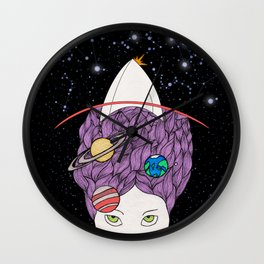 Mother of the Universe Wall Clock