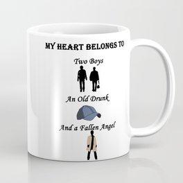 My Heart Belongs to Supernatural Coffee Mug