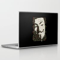 vendetta Laptop & iPad Skins featuring Vendetta 1.0 by Sberla