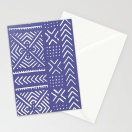 Line Mud Cloth // Iris Stationery Cards