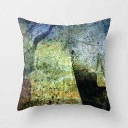 Charon Trip / Strange Trip Throw Pillow