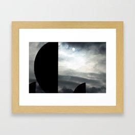Casting Framed Art Print