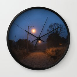 Dusk Way Wall Clock