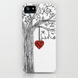 Love yourself first iPhone Case