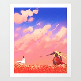The Royal Menagerie Art Print