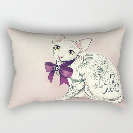 7 Lives Rectangular Pillow