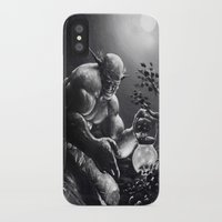 fireflies iPhone & iPod Cases featuring Fireflies by Art by Justin