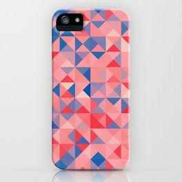 colorful Triangles 1 iPhone Case