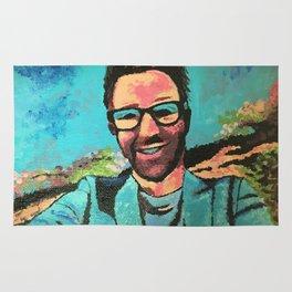 Adam Rose Pop Art Rug