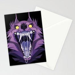 Werewolf Maw Stationery Cards