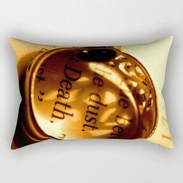 Words number 4 Rectangular Pillow