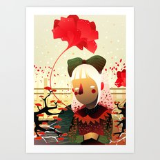 Golly, Sandra Art Print
