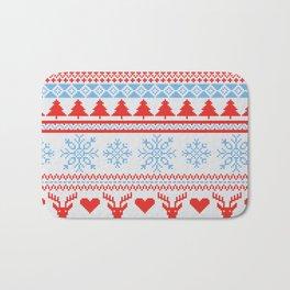 Ugly Christmas Design Bath Mat