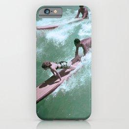 Vintage Surfer Magazine Cover iPhone Case