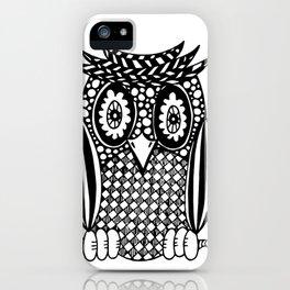 Hypnotise Owl iPhone Case