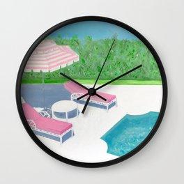 CORAL LANE Wall Clock