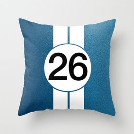 Lucky 26 Throw Pillow