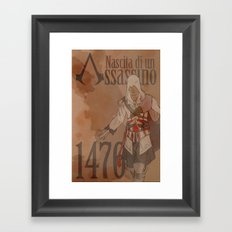 Birth of an Assassin Framed Art Print