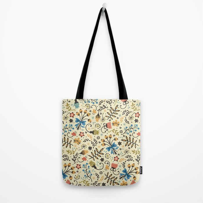 Floral Bloom Tote Bag