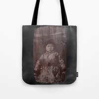 fear Tote Bags featuring Fear by Last Call