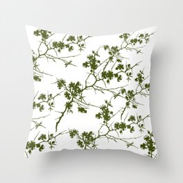 Abstract 253 Throw Pillow