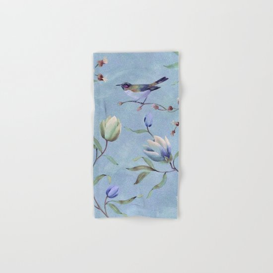 Summer bird Hand & Bath Towel
