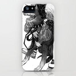 Bite Me (Doberman) iPhone Case
