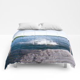 Lake Splash Comforters