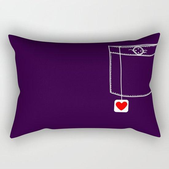 Pocket Full of Love Rectangular Pillow