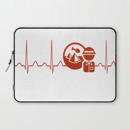Archaeologist Heartbeat Laptop Sleeve