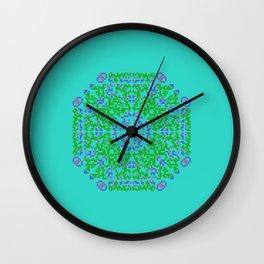 "CA Fantasy ""For Tiffany color"" series #5 Wall Clock"