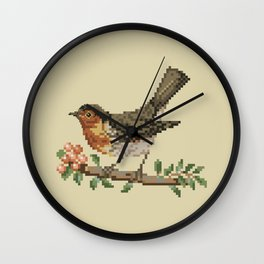 Bird 2 Wall Clock