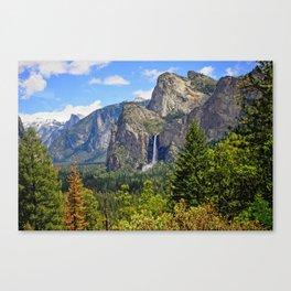 Bridaveil Falls Canvas Print