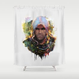 witchers creed Shower Curtain