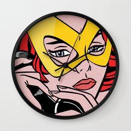 Girl Power 4 Wall Clock