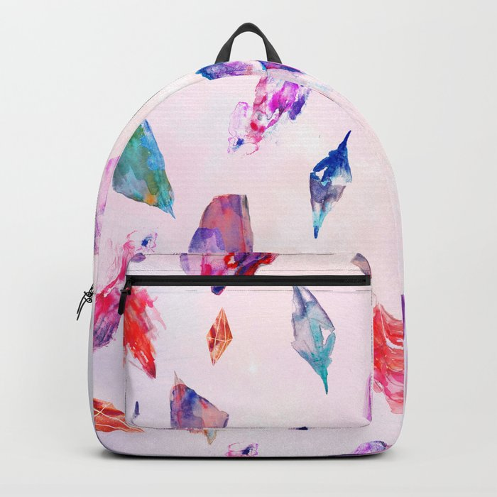 Watercolour Crystals  Backpack