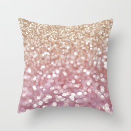 Holiday Bubbly Throw Pillow