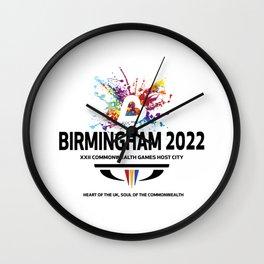 Birmingham 2022 Commonwealth Games Wall Clock
