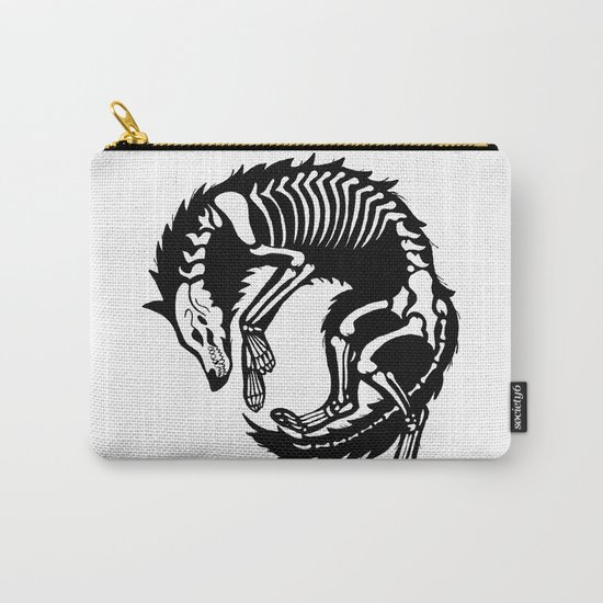 Wolf Bones Carry-All Pouch