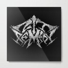 Black Metal - Zit Remedy Metal Print