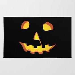 HALLOWEEN Carved Pumpkin • Costume & Trick-or-Treat Bag Rug