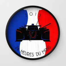 24 hrs of Le Mans Wall Clock