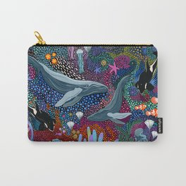 Whale Ocean Life Carry-All Pouch