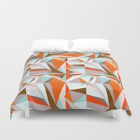 italian Duvet Covers featuring Italian Seaside by Norman Duenas