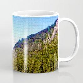 Mountain Valley Mosaic Coffee Mug