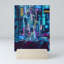 Myeongdong Lights Mini Art Print