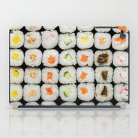 sushi iPad Cases featuring Sushi by Katieb1013