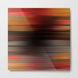 """Abstract Autumn Porstroke (Pattern)"" Metal Print"