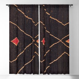 Feiija  Antique South Morocco North African Pile Rug Print Blackout Curtain