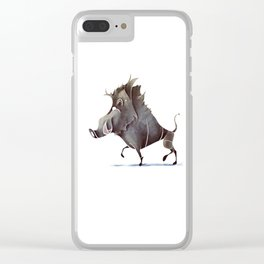 warthog Clear iPhone Case